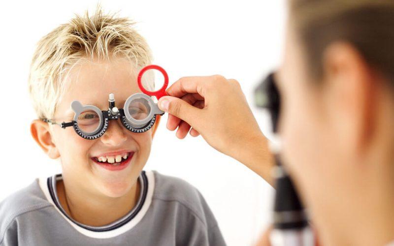 Okulary dla dzieci - Badanie wzroku