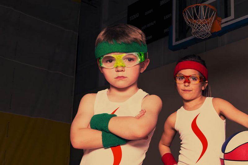 Okulary sportowe dla dzieci Sziols